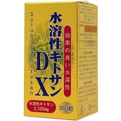 水溶性キトサンDX(360粒入)(発送可能時期:1週間-10日(通常))[キトサン]