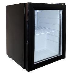 ネクシオン 21L ノンフロン家庭用小型ディスプレイ冷蔵庫 WS-TR25B ブラック(1台)(発送可能時期:1週間-10日(通常))[冷蔵庫・冷凍庫]