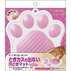 テペット とぎカスの出ない爪とぎマット 白(1コ入)(発送可能時期:3-7日(通常))[猫のおもちゃ・しつけ]