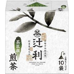 辻利 茶匠撰 煎茶(10袋入)(発送可能時期:3-7日(通常))[緑茶]