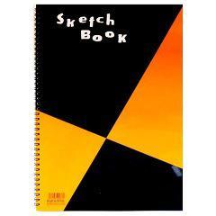 図案シリーズ スケッチブック B4(1冊)(発送可能時期:3-7日(通常))[文房具 その他]