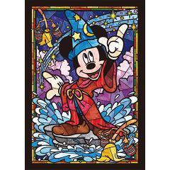 ミッキーマウス ステンドグラス DSG-266-747(1コ入)(発送可能時期:3-7日(通常))[パズル(ベビー玩具・赤ちゃんおもちゃ)]