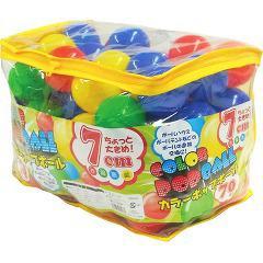 カラーポップボール(70コ入)(発送可能時期:1週間-10日(通常))[ベビー玩具・赤ちゃんおもちゃ その他]