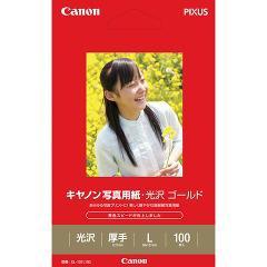 キヤノン 写真用紙・光沢 ゴールド L判 GL-101L100(100枚入)(発送可能時期:1週間-10日(通常))[情報家電 その他]