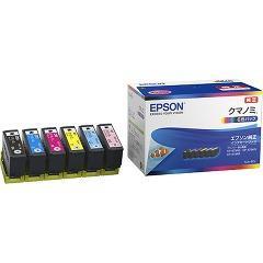 エプソン インクカートリッジ クマノミ 6色 KUI-6CL(1セット)(発送可能時期:3-7日(通常))[インク]