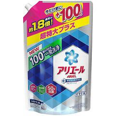 【企画品】アリエール イオンパワージェル サイエンスプラス 詰め替え 超特大増量品(1.45kg)(発送可能時期:3-7日(通常))[洗濯洗剤]