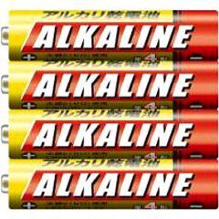 三菱 アルカリ乾電池 単4形 4本パック LR03R/4S(1セット)(発送可能時期:3-7日(通常))[電池・充電池・充電器]