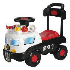 乗用玩具パトカー(1台)(発送可能時期:1週間-10日(通常))[のりもの]
