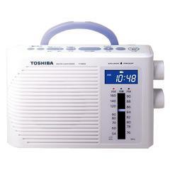 東芝 防水クロックラジオ TY-BR30F W(1台)(発送可能時期:3-7日(通常))[ラジオ]