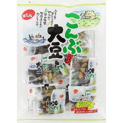 【訳あり】小袋こんぶ入り大豆(85g)(発送可能時期:1週間-10日(通常))[豆菓子]