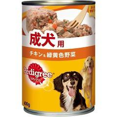 ペディグリー 成犬用 チキン&緑黄色野菜(400g)(発送可能時期:3-7日(通常))[ドッグフード(ウェットフード)]