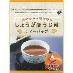 しょうがほうじ茶ティーバッグ(30g(3g*10パック))(発送可能時期:1週間-10日(通常))[ほうじ茶]