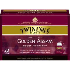 トワイニング ゴールデン アッサム(2.0g*20袋入)(発送可能時期:3-7日(通常))[紅茶のティーバッグ・茶葉(ストレート)]