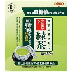 食事のおともに食物繊維入り緑茶(6g*30包)(発送可能時期:3-7日(通常))[緑茶]