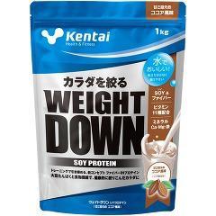ケンタイ ウェイトダウン ソイプロテイン ココア風味 K1240(1kg)(発送可能時期:3-7日(通常))[プロテイン Kentai h&f]