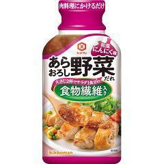 キッコーマン あらおろし野菜だれ 和風にんにく味(210g)(発送可能時期:1週間-10日(通常))[たれ]