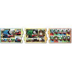 ステップパノラマ トーマスとみんなのばんごう 24-108(1コ入)(発送可能時期:3-7日(通常))[パズル(ベビー玩具・赤ちゃんおもちゃ)]