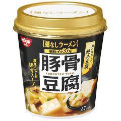 日清麺なしラーメン 豚骨豆腐スープ(1コ入)(発送可能時期:1週間-10日(通常))[インスタントカップスープ]