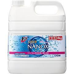 大容量 業務用 トップ スーパーナノックス(4kg)(発送可能時期:3-7日(通常))[つめかえ用洗濯洗剤(液体)]
