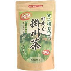 茶工場自慢の深蒸し掛川茶 徳用(300g)(発送可能時期:1週間-10日(通常))[緑茶]