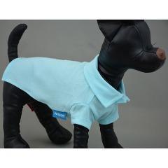 スタンダードポロシャツ 5 シーブルー(1枚入)(発送可能時期:3-7日(通常))[犬の洋服]