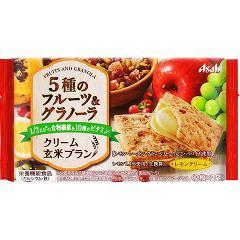 クリーム玄米ブラン 5種のフルーツ&グラノーラ(2枚*2袋入)(発送可能時期:1週間-10日(通常))[ビスケット・クッキー]