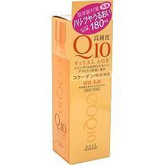 バイタルエイジ Q10 ミルキィローション(180mL)(発送可能時期:3-7日(通常))[保湿乳液]