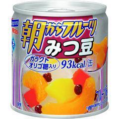朝からフルーツ みつ豆(190g)(発送可能時期:3-7日(通常))[フルーツ加工缶詰]