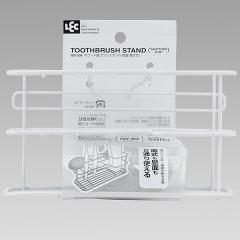 ダブルコート 歯ブラシスタンド 吸盤・置き型(1コ入)(発送可能時期:3-7日(通常))[風呂・洗面用品 その他]