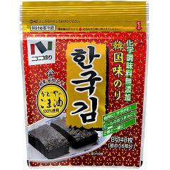 韓国味のり(8切48枚入)(発送可能時期:3-7日(通常))[海苔・佃煮]