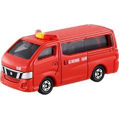 トミカ 箱027 日産 NV350キャラバン 消防指揮車(1コ入)(発送可能時期:3-7日(通常))[電車・ミニカー]