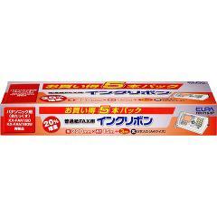 エルパ ファックスインクリボン FIR-P19-5P(5コ入)(発送可能時期:3-7日(通常))[インク]