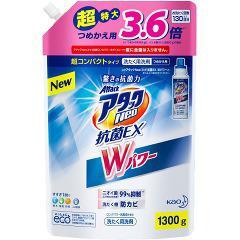 アタックNeo 抗菌EX Wパワー つめかえ用(1.3kg)(発送可能時期:3-7日(通常))[つめかえ用洗濯洗剤(液体)]