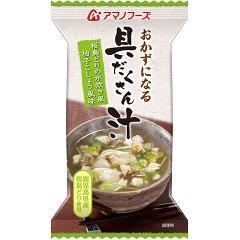 アマノフーズ おかずになる具だくさん汁 桜島どりの水炊き風 柚子こしょう風味(1食入)(発送可能時期:1週間-10日(通常))[スープ]