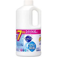 キュキュット クリア除菌 つめかえ用(1.38L)(発送可能時期:3-7日(通常))[食器用洗剤(つめかえ用)]