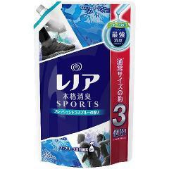 レノア 本格消臭 スポーツ フレッシュシトラスブルーの香り つめかえ用超特大サイズ(1.32L)(発送可能時期:3-7日(通常))[柔軟剤]
