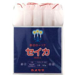 カメヤマ 聖火印 15号 角袋(560g(18本入))(発送可能時期:3-7日(通常))[ろうそく]