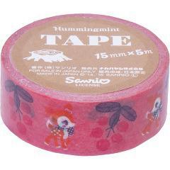 【企画品】ナカバヤシ ハミングミント北欧シリーズ マスキングテープ 15mm*5m ピンク MT-HM-2(1巻入)(発送可能時期:1-5日(通常))[文房具]