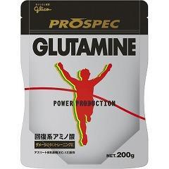 パワープロダクション アミノ酸プロスペック グルタミンパウダー(200g)(発送可能時期:3-7日(通常))[グルタミン]