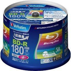 バーベイタム BD-R 録画用 6倍速 VBR130RP50V4(50枚入)(発送可能時期:3-7日(通常))[ブルーレイメディア]