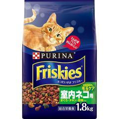 【おススメ】フリスキードライ 室内ネコ用 まぐろ・チキン・野菜入り(1.8kg)(発送可能時期:3-7日(通常))[キャットフード(ドライフード)]