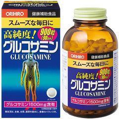 オリヒロ 高純度 グルコサミン粒 徳用(900粒*2コセット)(発送可能時期:3-7日(通常))[グルコサミン]