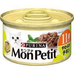 【おススメ】モンプチ缶 11歳以上用 やわらかチキン(85g)(発送可能時期:3-7日(通常))[キャットフード(ウェット)]