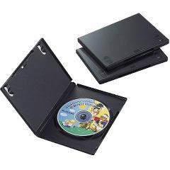 エレコム DVDトールケース CCD-DVD01BK(3コ入)(発送可能時期:3-7日(通常))[その他]