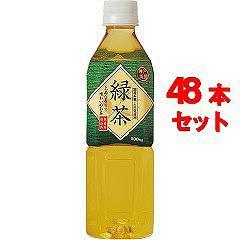 神戸茶房 緑茶(500mL*48本入)(発送可能時期:1-5日(通常))[緑茶]