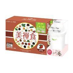 ドクターシーラボ 美禅食 カカオ味 シェイカー付きセット(1セット)(発送可能時期:3-7日(通常))[ダイエットシェイク]