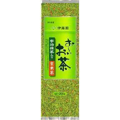 お〜いお茶 宇治抹茶入り玄米茶(200g)(発送可能時期:1週間-10日(通常))[玄米茶]
