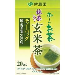 お〜いお茶 抹茶入り玄米茶ティーバッグ(2.0g*20袋入)(発送可能時期:1週間-10日(通常))[玄米茶]