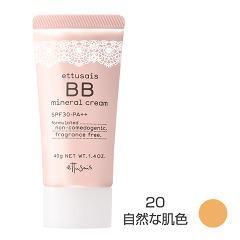 エテュセ BBミネラルクリーム 20 自然な肌色(40g)(発送可能時期:3-7日(通常))[クリームファンデーション]