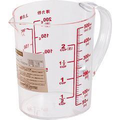 シンプルベーシック 耐熱計量カップ 500mL C-8939(1コ入)(発送可能時期:3-7日(通常))[調理器具 その他]